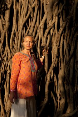 Rita in Pune, India on Tuesday Sept 17, 2013. Photograph by Namas Bhojani
